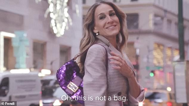 Sarah Jessica Parker Reprises Her Role As Carrie In New Video For Fendi